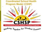 coordinated school health program model cshp