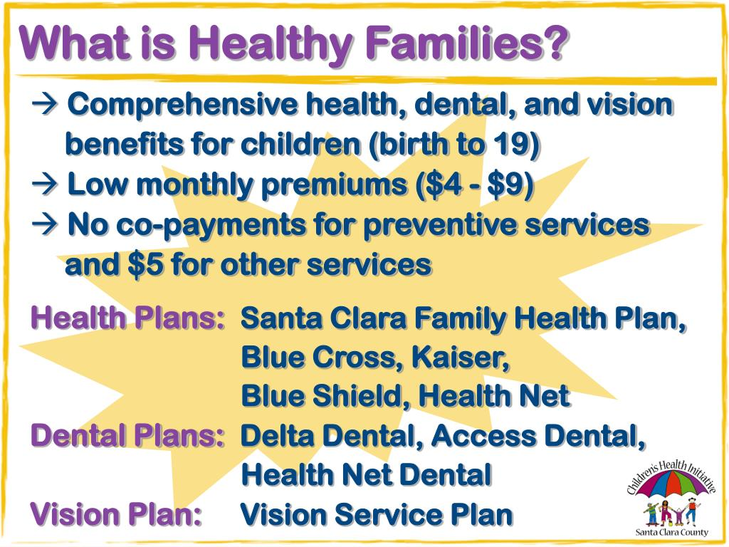 What is Healthy Families?