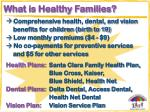 what is healthy families