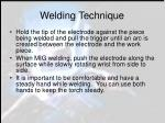 welding technique
