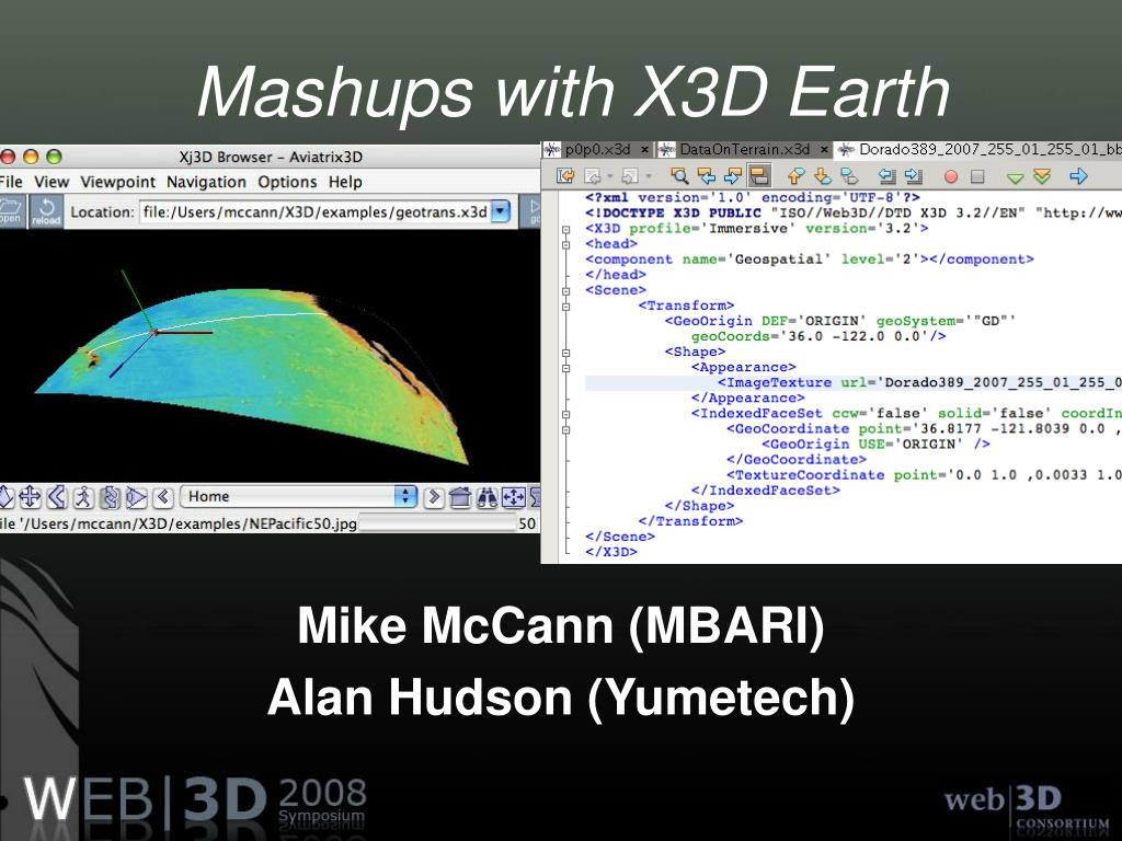 mashups with x3d earth l.