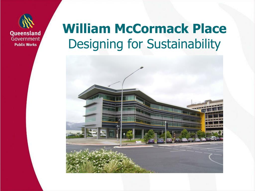william mccormack place designing for sustainability l.
