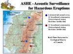 ashe acoustic surveillance for hazardous eruptions5