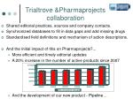 trialtrove pharmaprojects collaboration