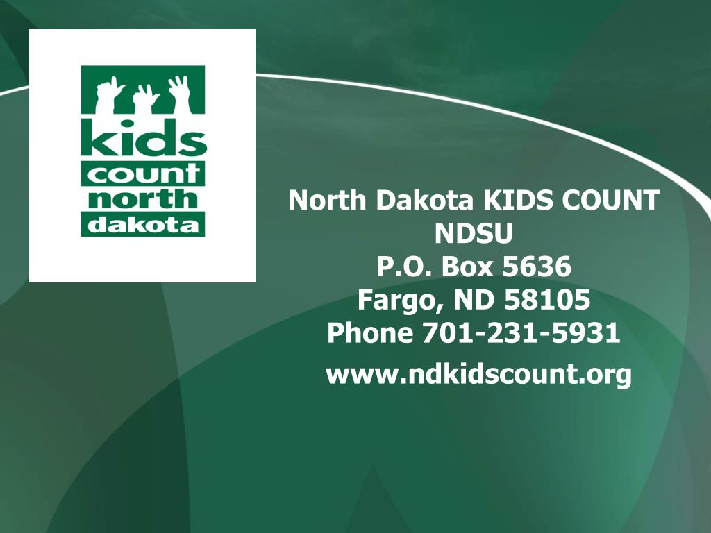 North Dakota KIDS COUNT