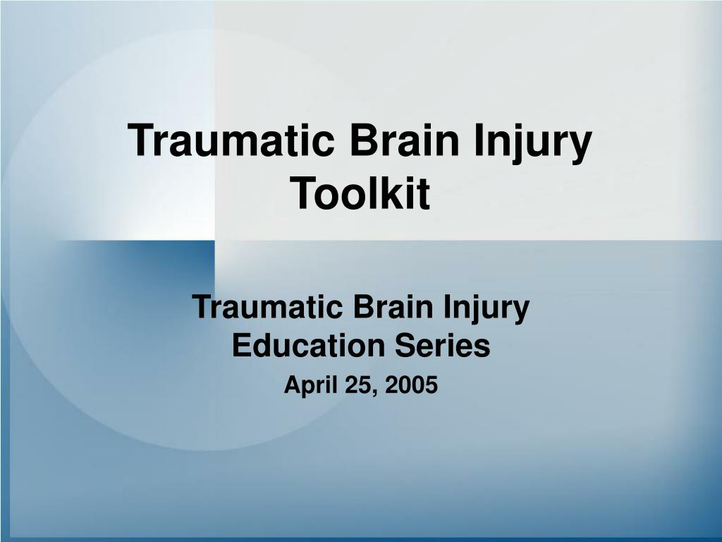 traumatic brain injury toolkit l.