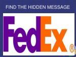 find the hidden message