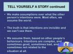 tell yourself a story continued29