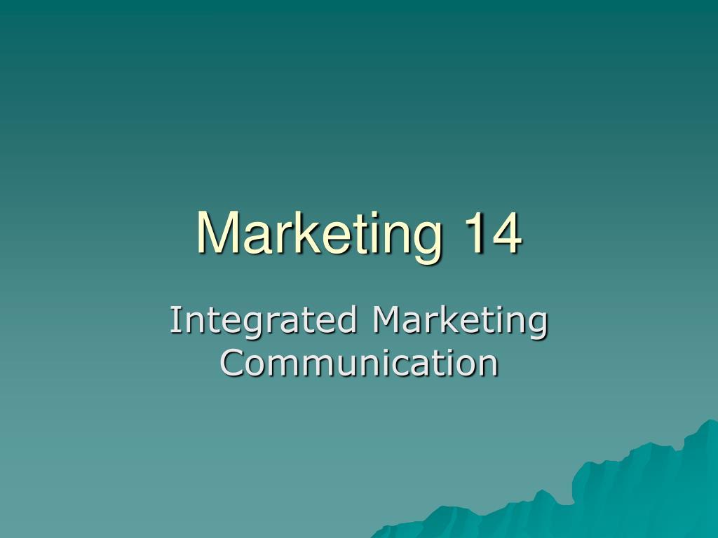 marketing 14 l.