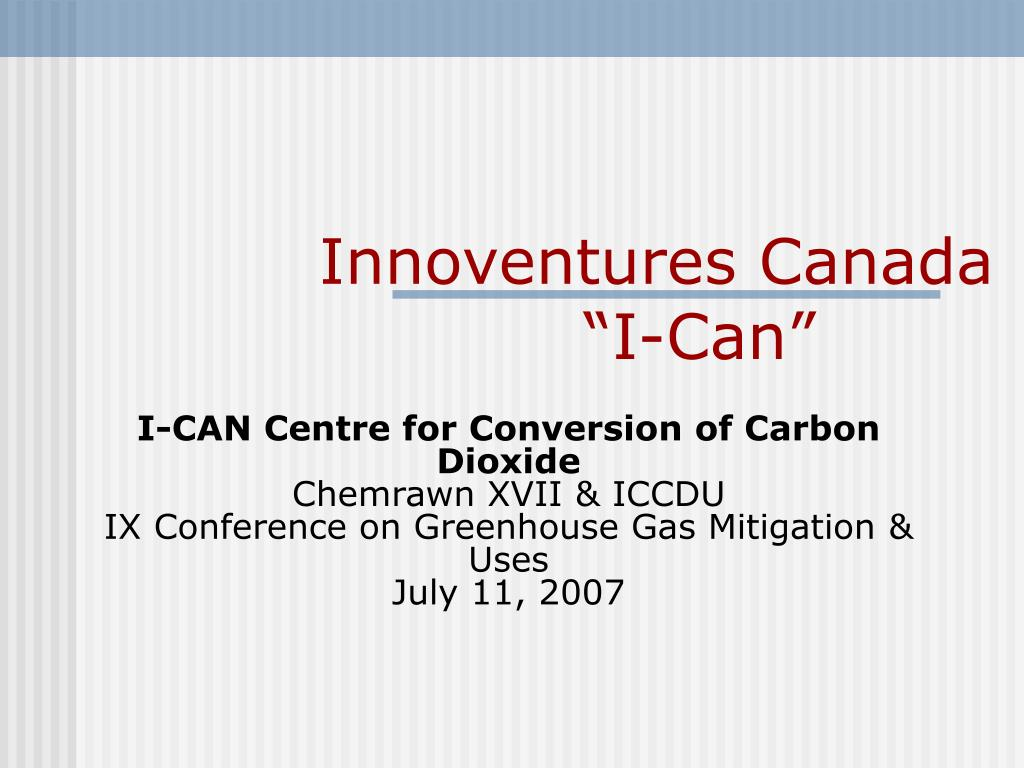 innoventures canada i can l.