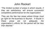 john rockart