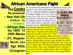 african americans fight