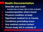 death documentation35