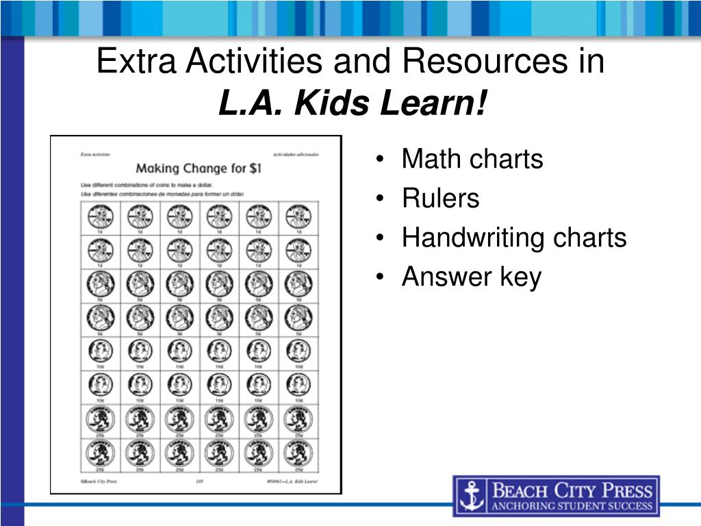 Extra Activities and Resources in