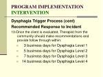 program implementation intervention131