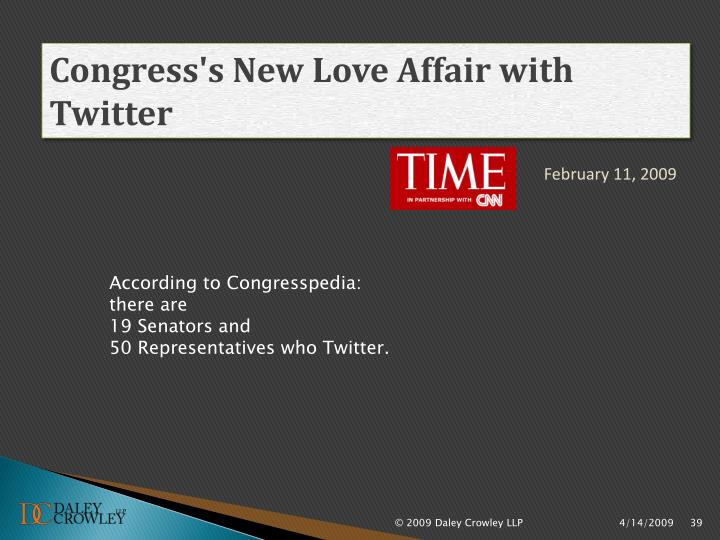 Congress's New Love Affair with Twitter