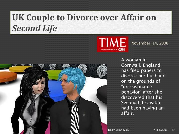 UK Couple to Divorce over Affair on