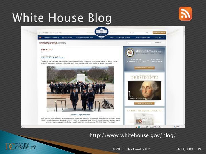 White House Blog