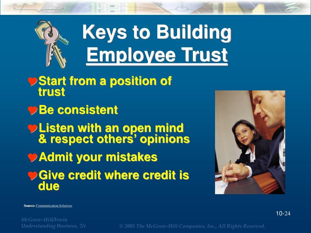 Keys to Building