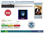 trend 2 3 big data driven by real world benefit