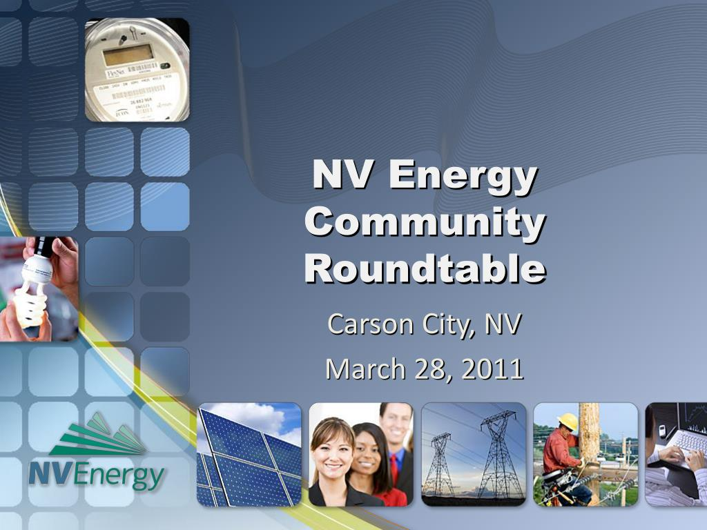 nv energy community roundtable l.
