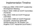 implementation timeline11