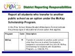 district reporting responsibilities11