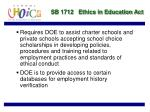 sb 1712 ethics in education act35