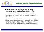 school district responsibilities6