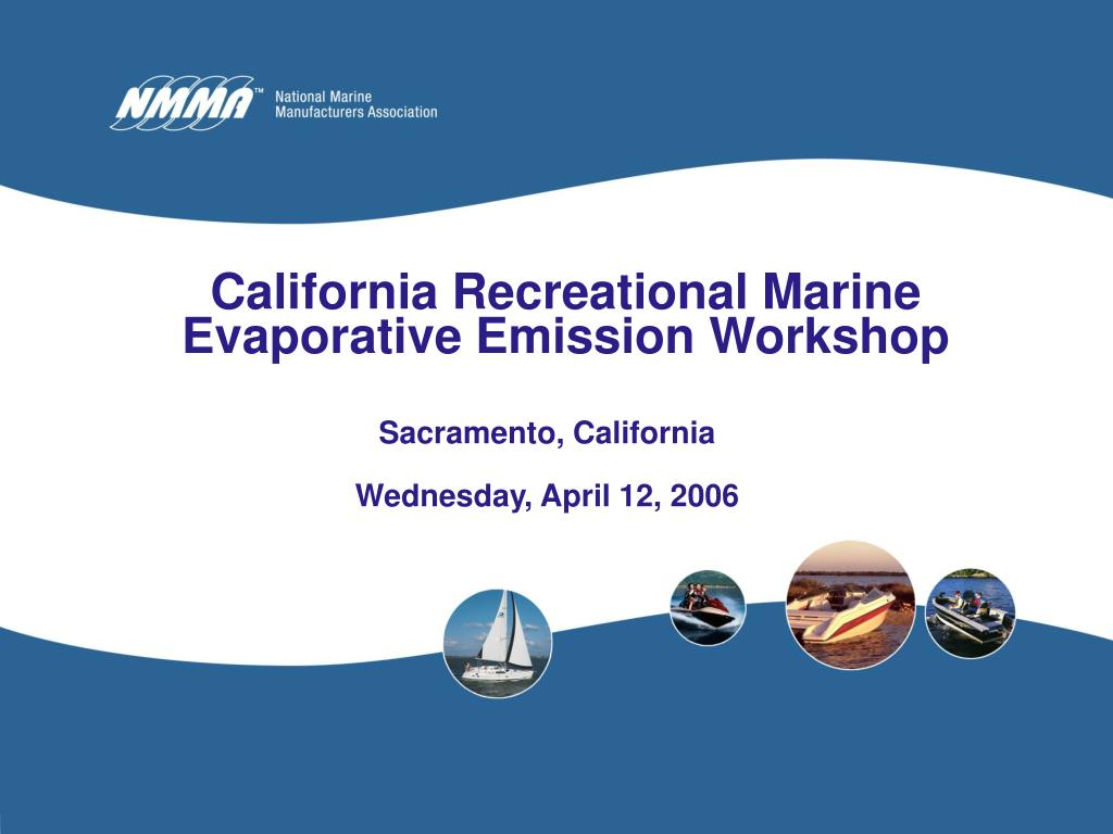 california recreational marine evaporative emission workshop l.