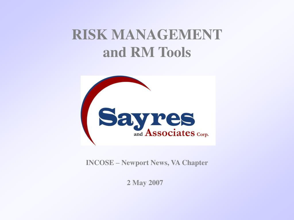 risk management and rm tools l.