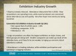 exhibition industry growth