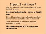 impact 2 answers