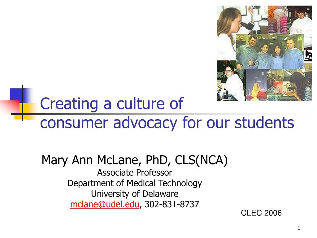 creating a culture of consumer advocacy for our students l.