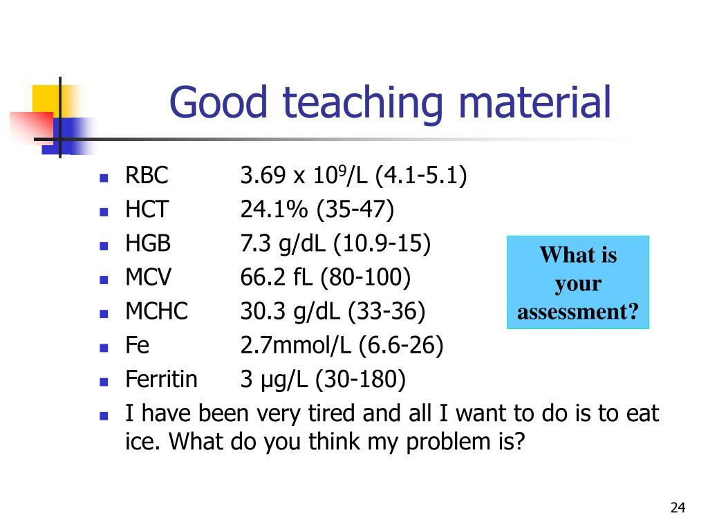 Good teaching material