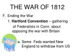 the war of 181221