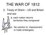 the war of 181223
