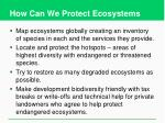 how can we protect ecosystems