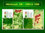 hitchcock ok 1994 1996