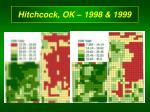 hitchcock ok 1998 1999
