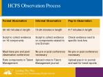 hcps observation process7