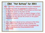 cms hot buttons for 201129