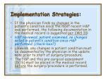 implementation strategies32