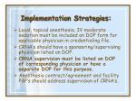 implementation strategies37
