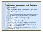 pt admission assessment and discharge22