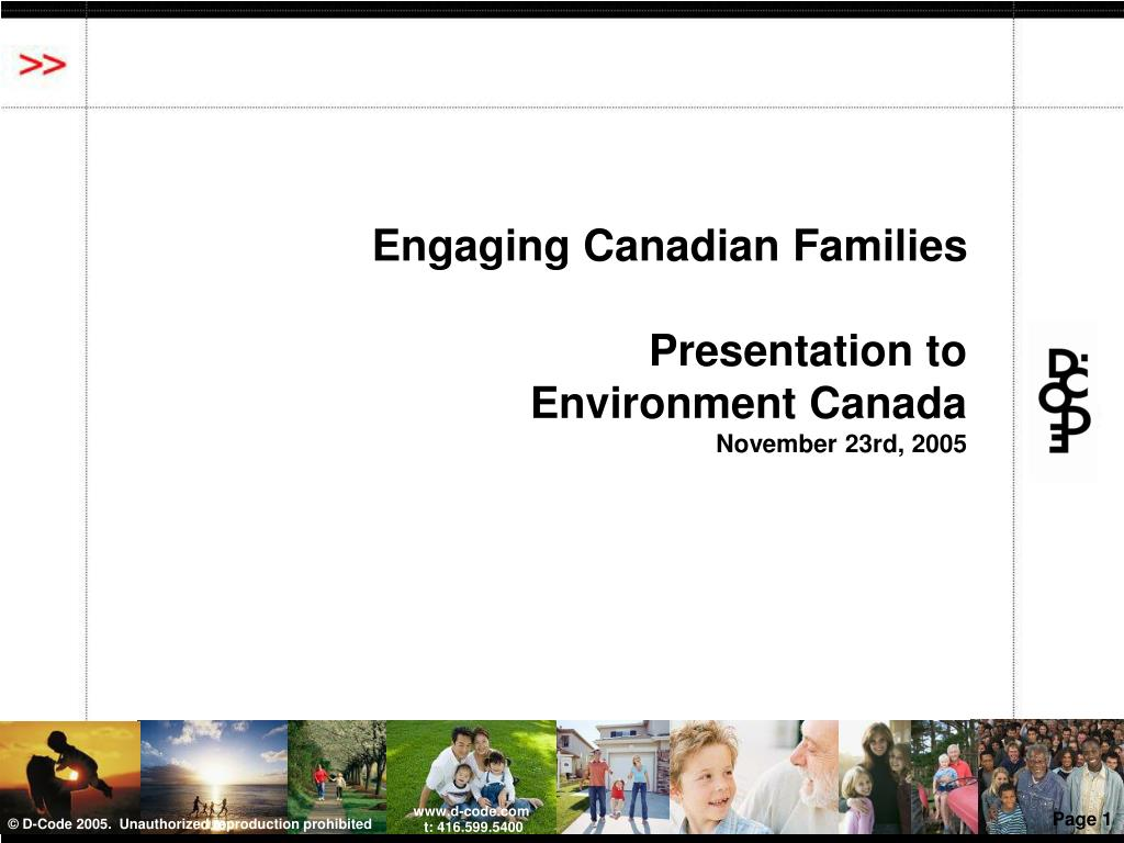 Engaging Canadian Families