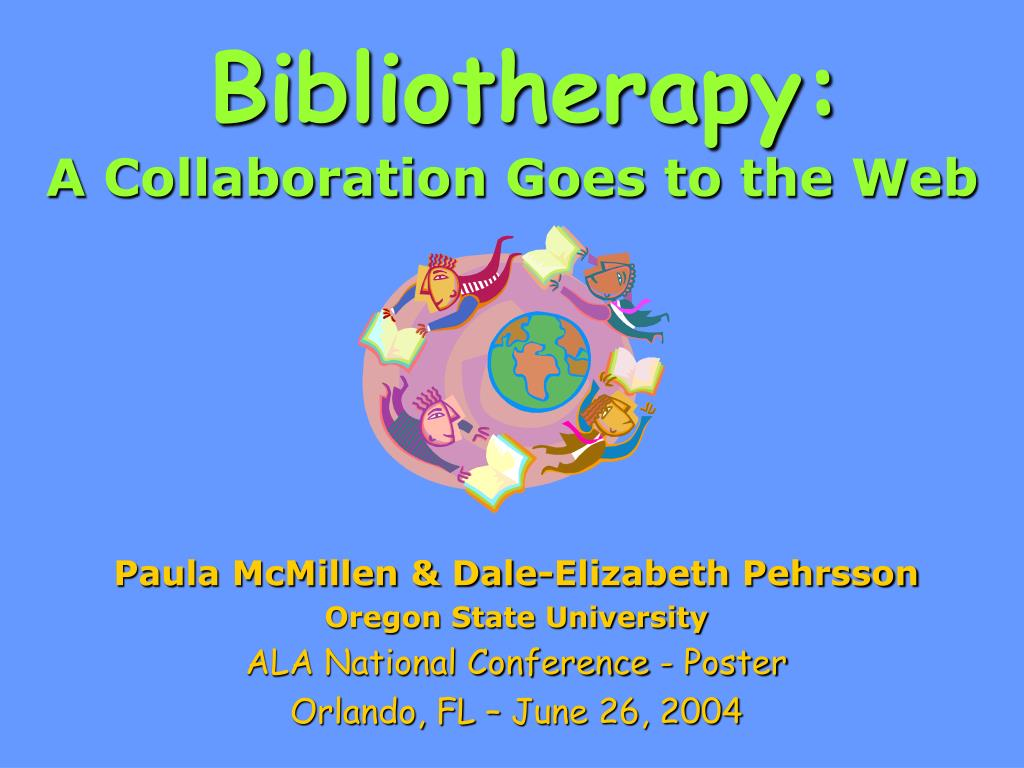 bibliotherapy a collaboration goes to the web l.