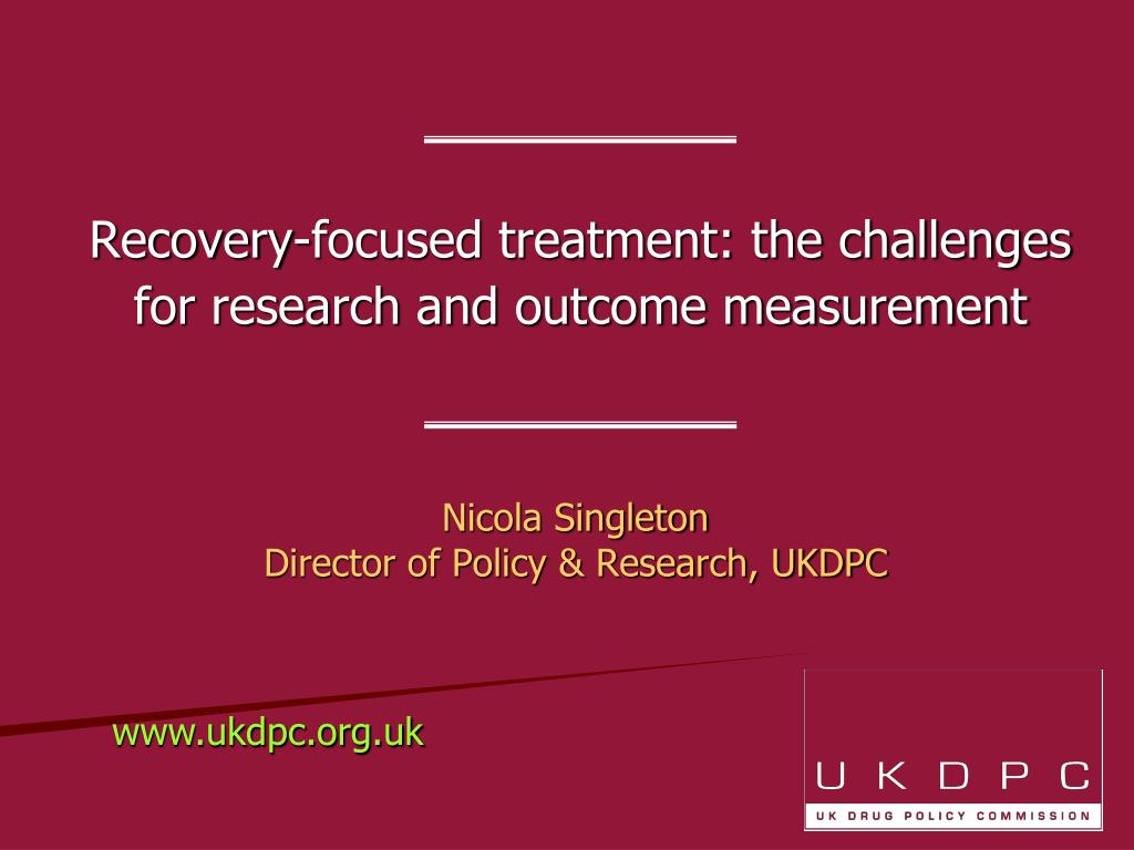 nicola singleton director of policy research ukdpc l.