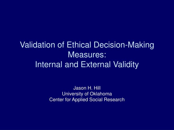 what are internal and external factors in decision making Consumer behaviour is quite subjective as a consumer decision-making process is affected by number of factors the most substantial personal influences that affect consumers purchase decisions can be classified in two categories (hoyer & macinnis, 2009) that are as follows.