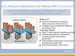 resource optimization with vmware drs